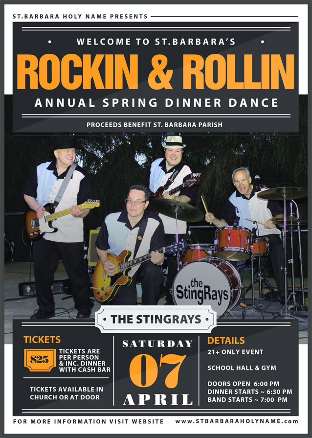 The StingRays - 50's, 60's, & 70's Rock & Roll Oldies Music